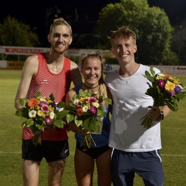 Julia Mayer Sebastian Frey Dsg wien Patrick Krammer laufen Waidhofen sieg Abendmeeting Ybbs 3000 meter