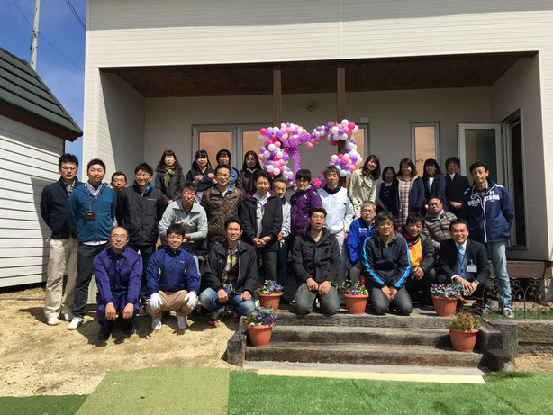 西岡建設 春の感謝祭
