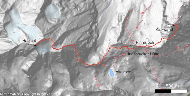 Kalkwand via Innsbruckerhütte