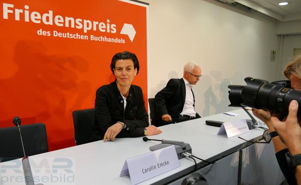 Carolin Emcke - Friedenspreisträgerin des Deutschen Buchhandels 2016 © dokfoto.de / Klaus Leitzbach