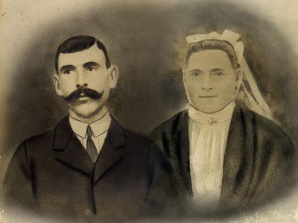 Archives familiales- Photo prise en studio fin XIXeme ou début XXeme siècle (restaurée et numérisée en 2017).
