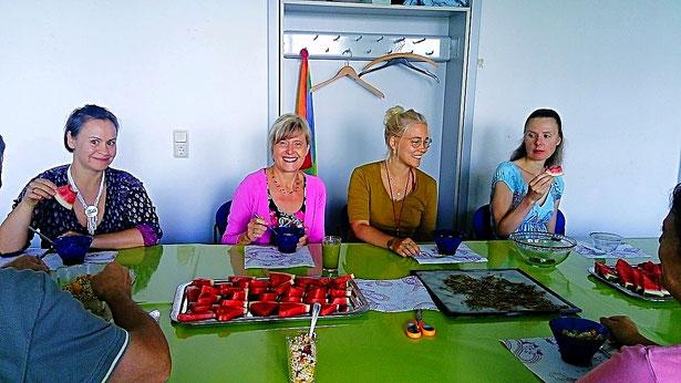 Rainbow- Akademie bei Britta Diana Petri