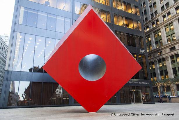 イサム・ノグチ《Red Cube》