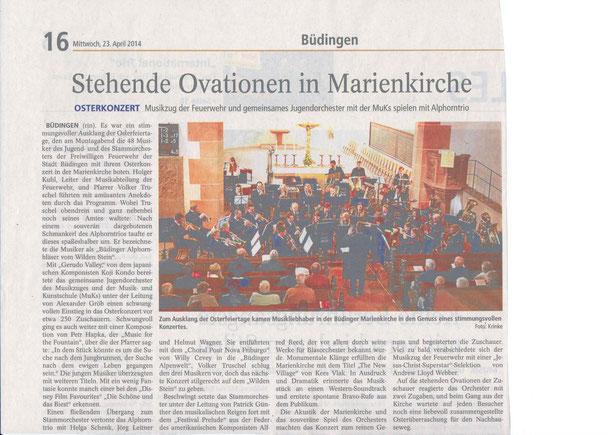 Kreis-Anzeiger vom 23.04.2014