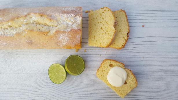 Griekse yoghurt limoen cake