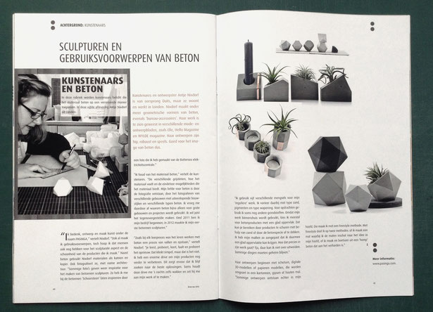 PASiNGA featured in the b:ton Magazine NL