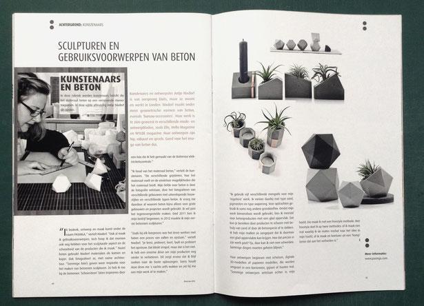 PASiNGA featured in the b:ton Magazine NL
