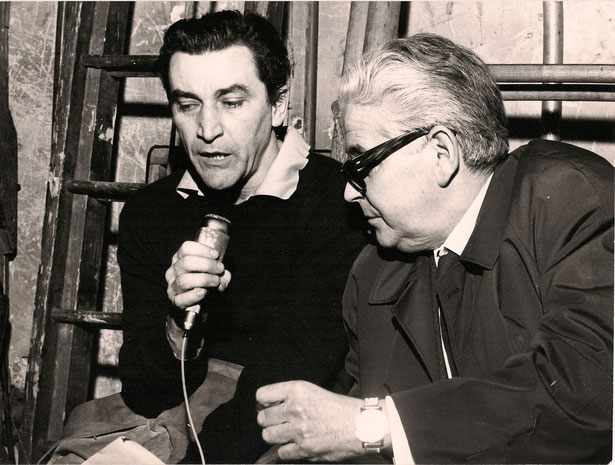 Rainer im Interview mit Maurice Béjart