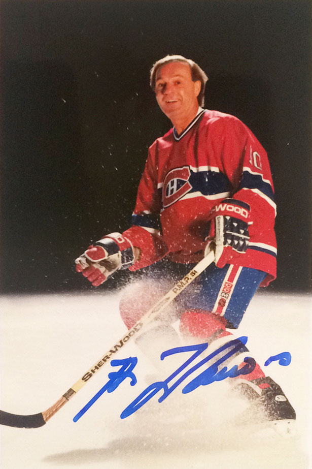 Autograph Guy Lafleur Autogramm