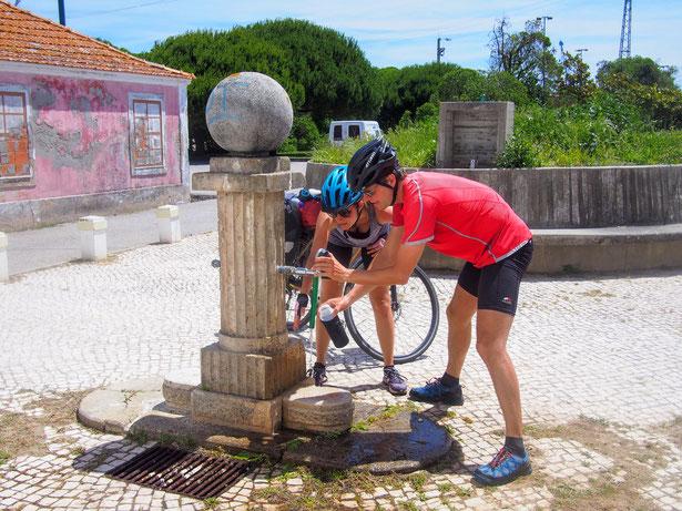 Radreise, Wildcampen: Klo und so?