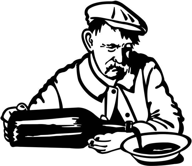 """""""Soupe chabrot"""" - Visuel pour le restaurant L'Cantalou à Issoire, 2016"""
