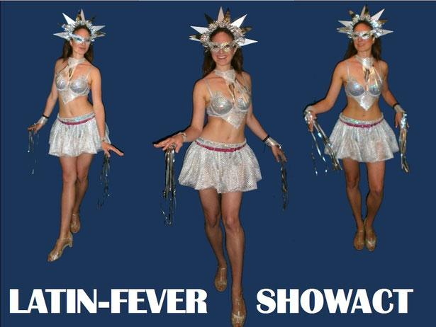 heiße Kostüme, Tänzerinnen, Samba, Latinfever