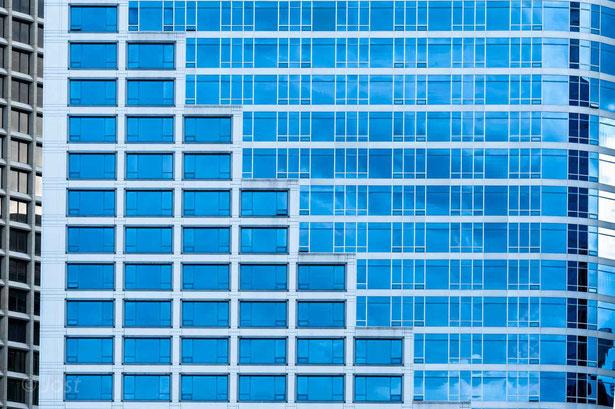 Vancouver - Hochhaus in Glas und Stahl