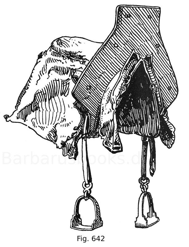 Fig. 642. Stechsattel. Anfang des 16. Jahrhunderts.