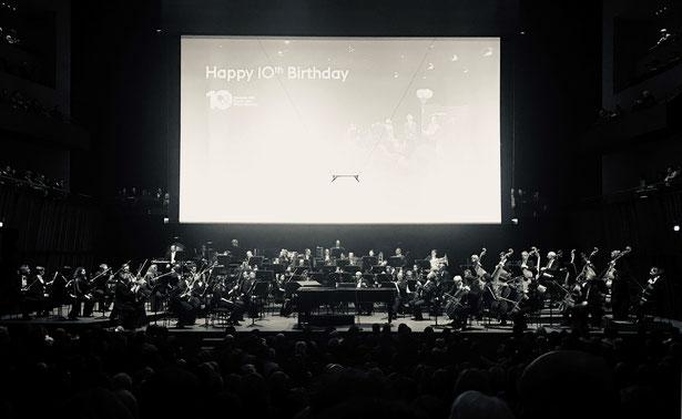 Concert de l'Orchestre Philharmonique du Luxembourg pour les 10 ans de la Fondation EME