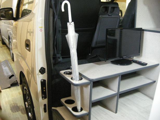 NV350キャラバンでキャンピングカー・車中泊
