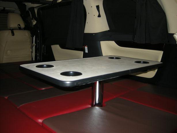 ヴェルファイア・アルファードで車中泊・キャンピング仕様を製作しました。