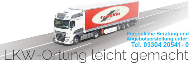GPS-LKW-Ortung