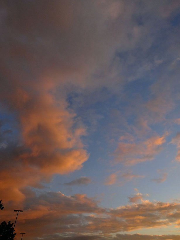 Abendhimmel am 24.Juni 2012