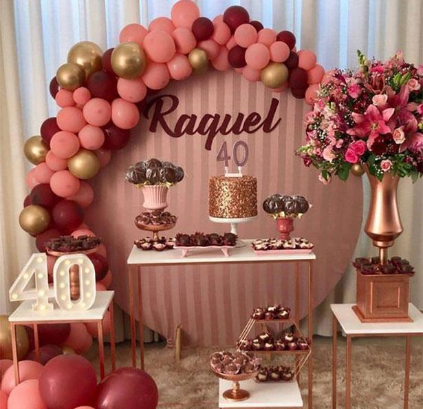 mesa de dulces 40 años