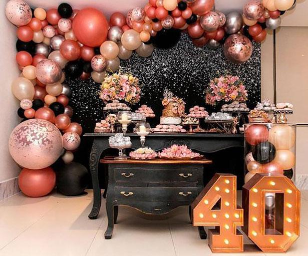 decoraciones fiesta 40 años
