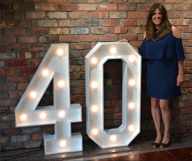 celebracion cumpleaños 40 años
