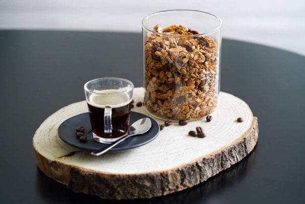 Espresso -Granola | natürlich gesüßt & gesund
