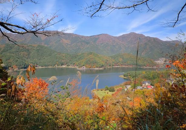 羽根子山・河口湖