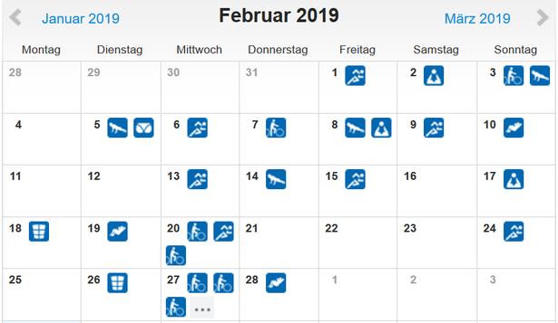 freaky routine, Sport, Fitness, Februar 2019, runtastic