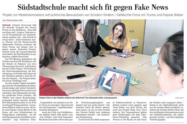 Fake News Medienpartizipation Demokratie Schule Politik Projekte Jugendbeteiligung Politische Bildung