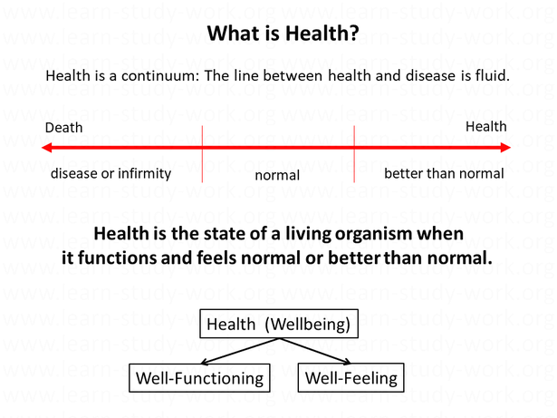 What is Health? Health Definition - www.learn-study-work.org