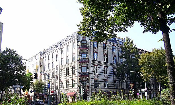 Kachelhaus Goltzstraße Ecke Hohenstaufenstraße - Berlin Schöneberg