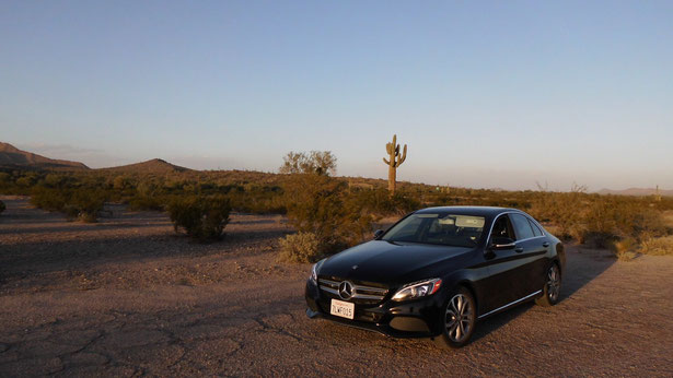 Bild: Mercedes C-Class, Mercedes-Benz C-Klasse, Sonoran Dessert Arizona