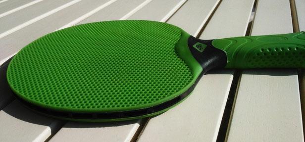 perfekter Outdoor-Tischtennis-Schläger