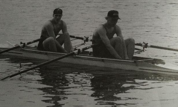 Stefan Ratschko und Marcel MuB auf der Jugendmeisterschaft in Duisburg, 1996.