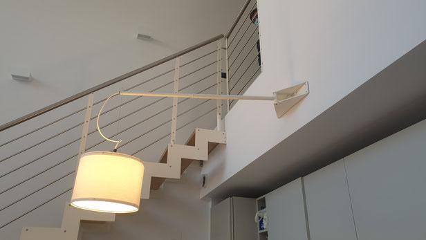 lampada su misura,lampada moderna,lampada in ferro
