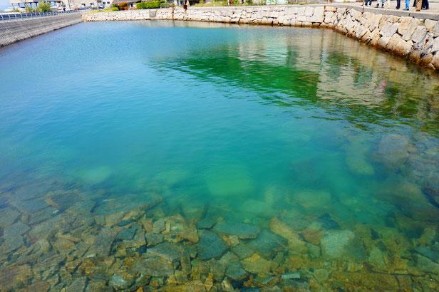 なんとここは北木のトレビの泉と言われているそうです。