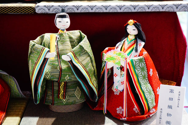 唐琴地区の髙田織物さんの作品です。