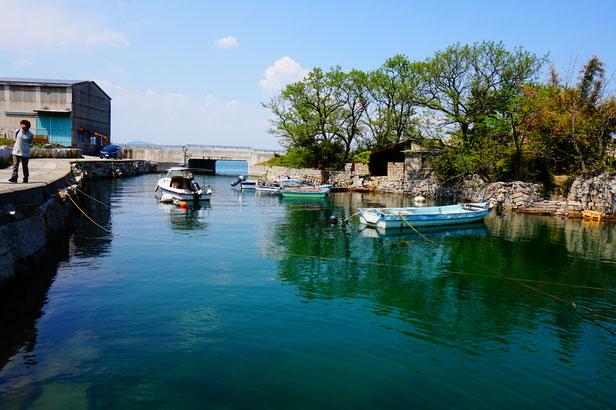 さあここから北木島のワールドツアーです。