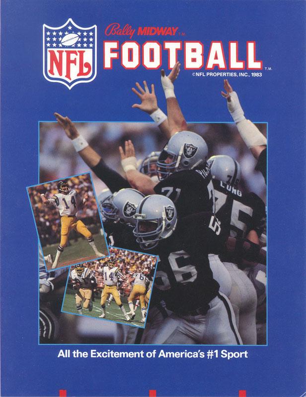 NFL Football arcade 1983