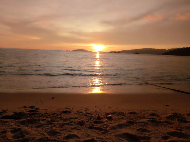 Sunset Beach Koh Lipe Strände Koh Lipe Urlaub
