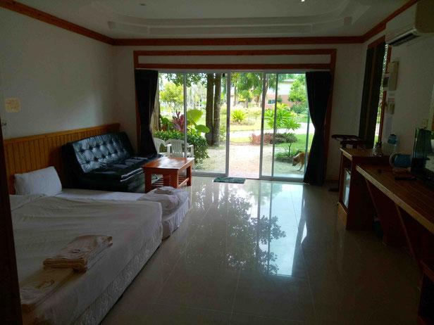 Hotel am Pattaya Beach auf Koh Lipe