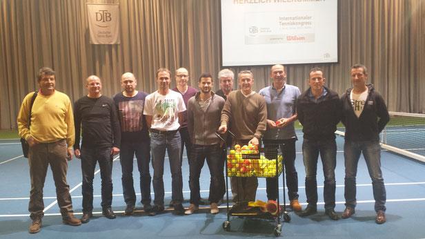 Saarländische Teilnehmer beim DTB-Kongress in Berlin vom 02.-04.01.2015