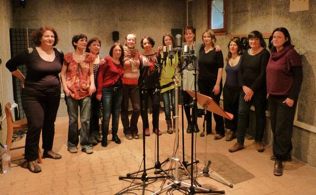 Enregistrement de notre 1er album - Studio Blatin Clermont-Ferrand - 25/28 février 2015