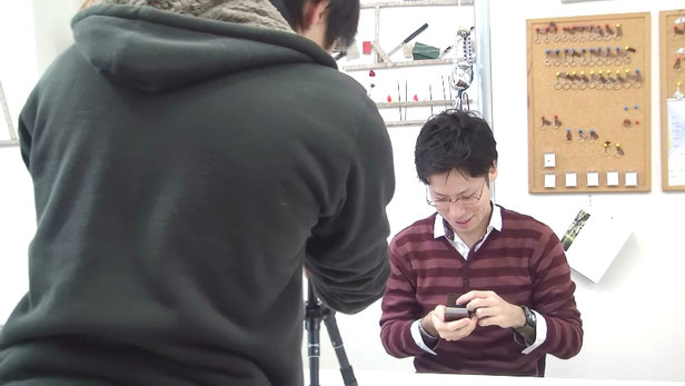 制作動画撮影