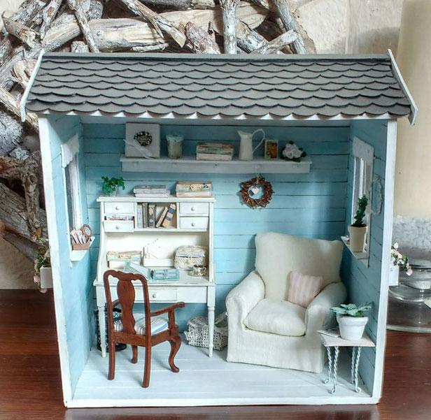 Miniatur-Haus 1 zu 12