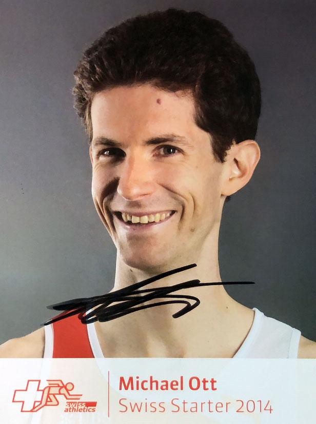 Autogramm Michael Ott Autograph