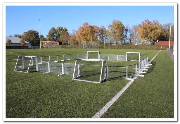 das Soccer-Ei ein Court im Training für das Fußballtraining