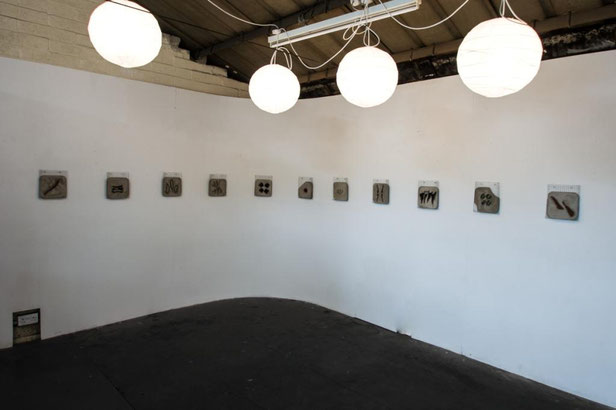 Artist Tammy Woodrow's exhibition titled Metanoia at Althorpe Studios & Gallery, Leamington Spa