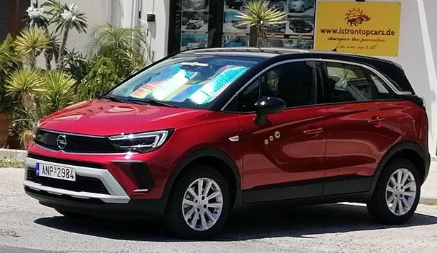 SUV Opel Crossland Elegance, Automatic Turbo, exemplary model